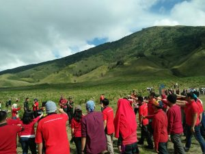 outbound di bromo, outbound di gunung bromo, outbound fun di bromo,