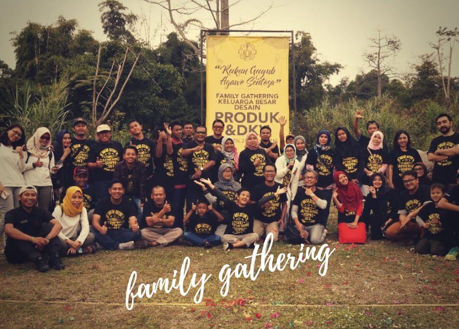 Family Gathering Keluarga Besar Desain Produk Dan DKV ITS