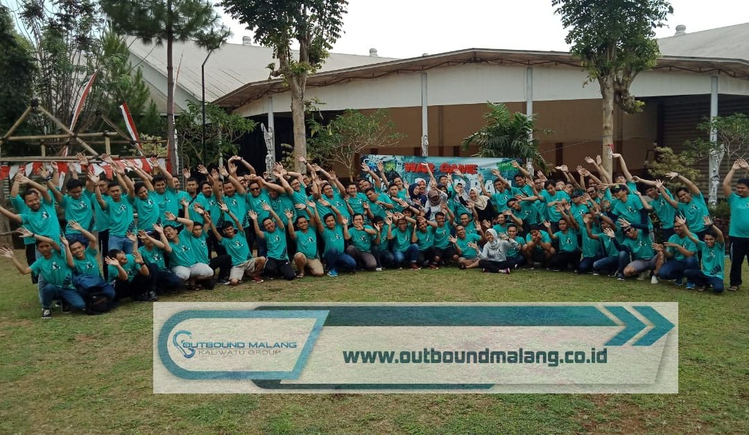 Outbound Fun Games dan Paintball PJB Balikpapan di Hotel Jambuluwuk Batu