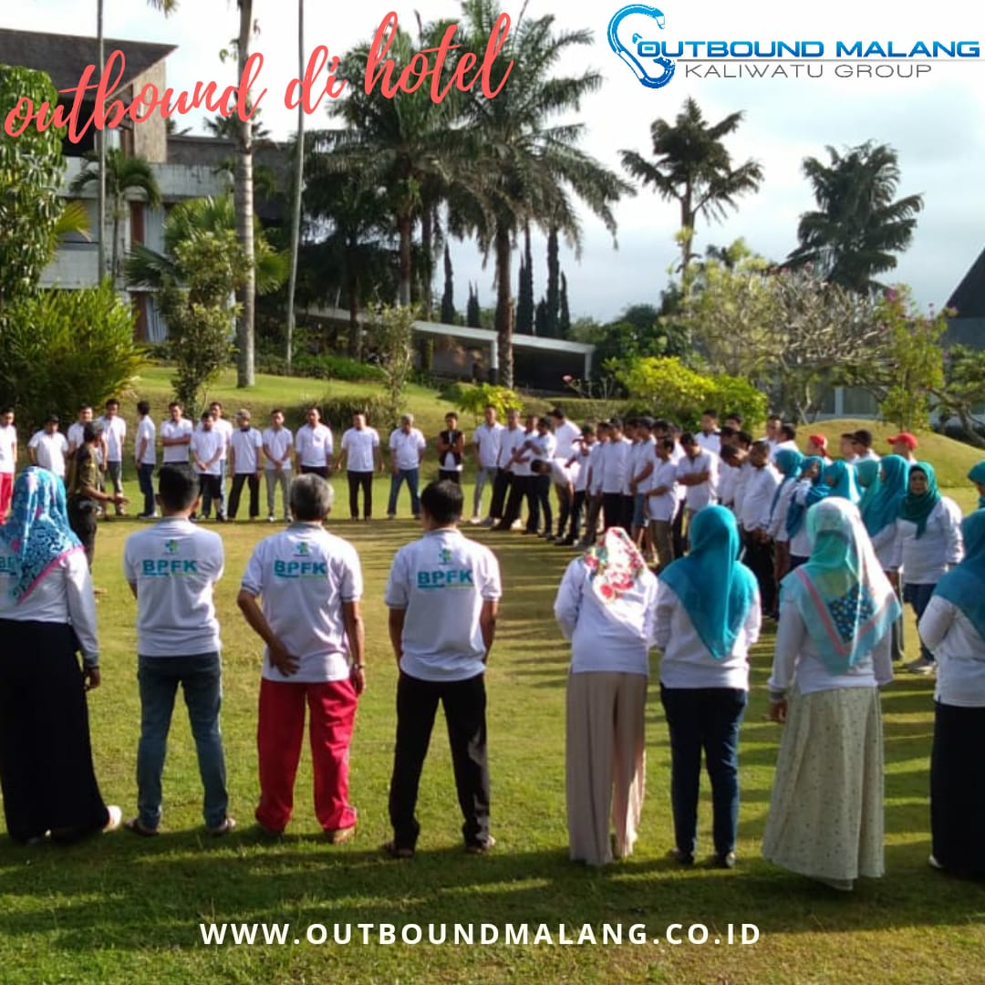 outbound di hotel kota batu, outbound malang, outbound kaliwatu,
